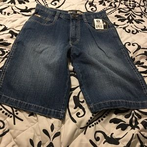 Boys south pole denim shorts